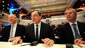 Kommt der negative Einlagezins?: Fitschen geht auf Konfrontationskurs zur EZB