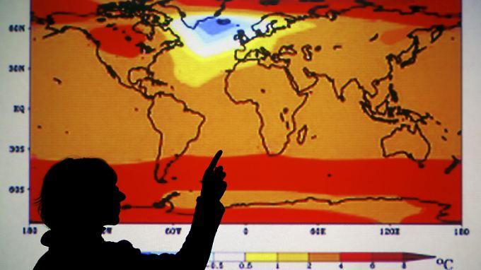 Verschnaufpause in der Erderwärmung? Kurzfristige Schwankungen haben für Klimaforscher wenig Aussagekraft. Der langfristige Trend ist klar: Es wird wärmer.