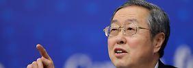 Steuert für Maos politische Erben die chinesische Geldpolitik: PBoC-Chef Zhou Xiaochuan.