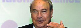 Heinz Hermann Thiele ist Eigentümer von Knorr Bremse.