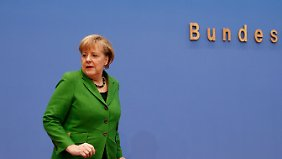 """Kanzlerin zum Koalitionsvertrag: """"Es waren von Vertrauen geprägte Beratungen"""""""