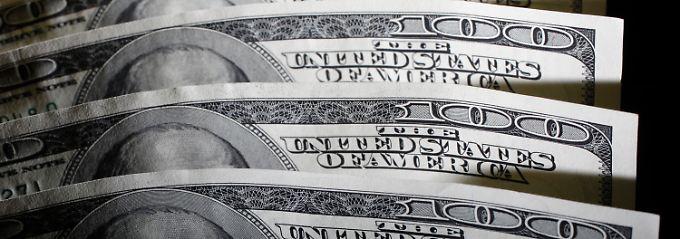 Anhaltende Stärke: Der Euro nähert sich der Marke bei 1,36 Dollar.