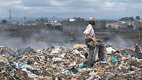 Arbeit auf dem Müllberg: Nairobis Abfallsammler kämpfen ums Überleben