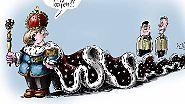 Klaus Stuttmanns Karikaturen 2013: Wie es wurde, was es war