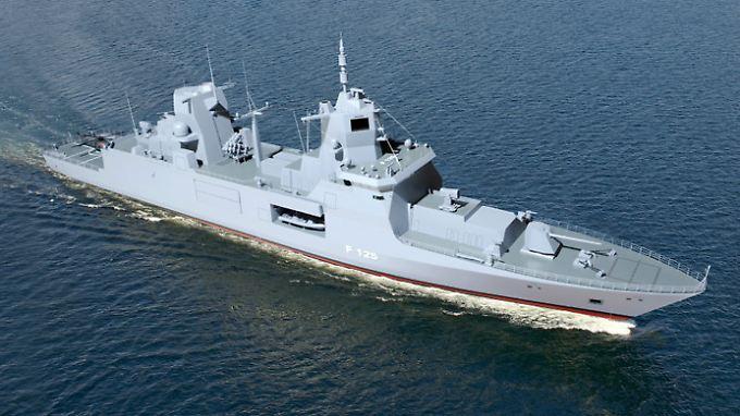 Fregatte der 125er Klasse: Es gibt offenbar Qualitätsmängel.