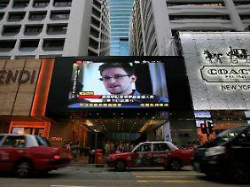 Das weltweite Gesicht der Geheimdienst-Enthüllungen: Edward Snowden.