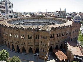 """Die Arena """"La Monumental"""" in Barcelona wird bald keine Stierkämpfe mehr zeigen."""