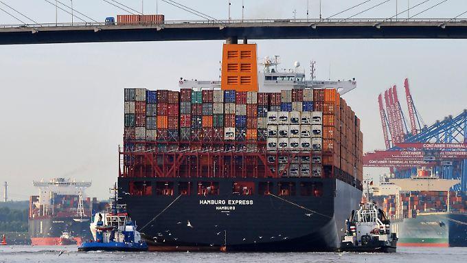 Abfahrt Richtung Amerika: Dort wartet der wichtigste deutsche Handelspartner außerhalb Europas.