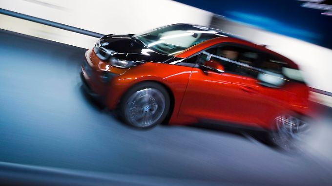 BMW i3 setzt auf Karbon und Elektrizität.