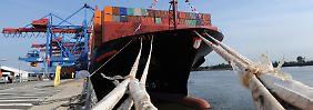 Riesen in der Konjunkturkrise: Das Leiden der Schifffahrtsbranche