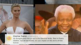 """""""Dein inspirierender Geist wird ewig leben"""": Prominente erinnern sich an Mandela"""