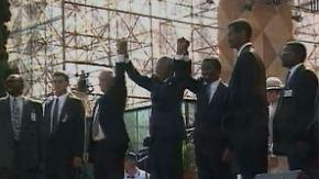 Wirtschaftliche Verdienste: Nelson Mandela hat Südafrika geöffnet