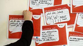 Die Pkw-Maut stößt bei den jungen Sozialdemokraten nicht gerade auf Begeisterung.