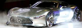 Deutsche Oberklasse auf Rekordfahrt: Mercedes wächst am schnellsten