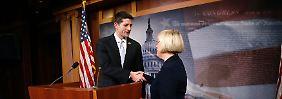 Kompromiss im US-Haushaltsstreit: Demokraten und Republikaner handeln Deal aus