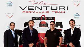 Mit Venturi startet Leonardo DiCaprio in den ökologisch unbedenklichen Rennsport.