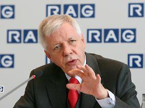 Werner Müller, RAG-Stiftungschef, will mehr als 40 Prozent seiner Evonik-Anteile auf den Markt werfen.l