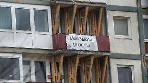 """Lebensgefahr für Mieter: """"Esso-Häuser"""" wegen Einsturzgefahr evakuiert"""