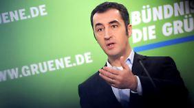 Der Grünen-Vorsitzende Cem Özdemir.