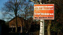 Garzweiler II aber nicht zu beanstanden: Karlsruhe schützt vor Enteignungen