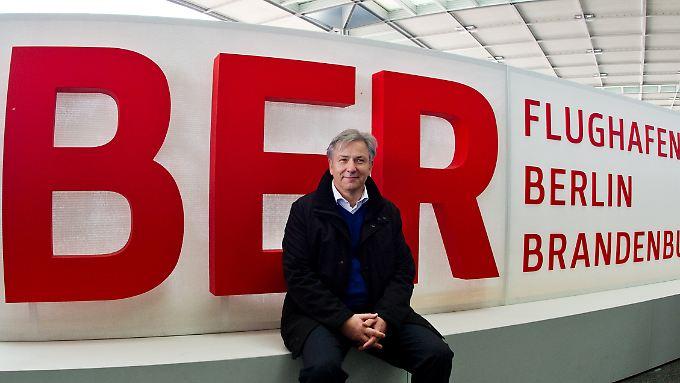 """Sieht den BER als """"Erfolgsgeschichte"""": Klaus Wowereit."""