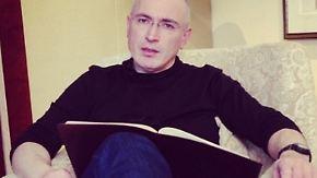 Treffen mit der Familie in Berlin: Chodorkowski will vor die Presse treten