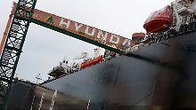 Weltweite Krise in der Schifffahrtsbranche: Hyundai-Gruppe plant Milliardenverkäufe