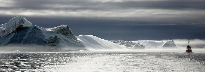 Harsh reality:. Eisfjord in Greenland