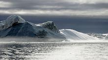 Phänomen von der Größe Irlands: Riesige Wasserader im Grönland-Eis entdeckt