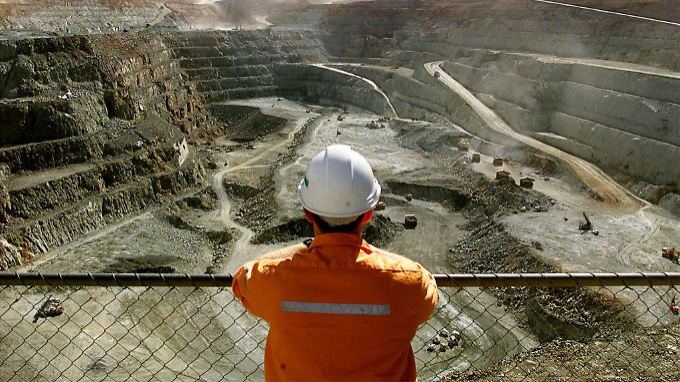 Blick über eine Goldmine. Wie geht es hier im kommenden Jahr weiter?