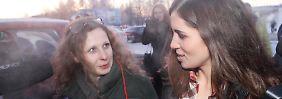 Erstes Wiedersehen nach zwei Jahren: Pussy Riot treffen sich in Sibirien