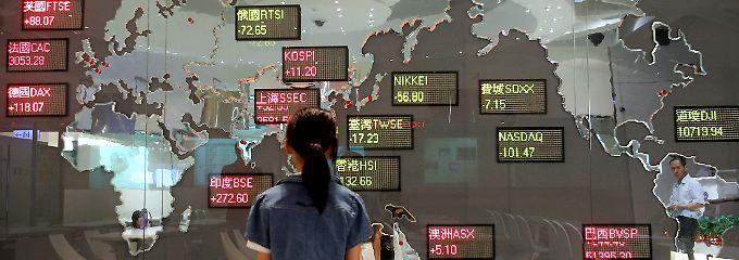 Finanzplatz im Herzen Asiens: Taiwans Hauptstadt Taipeh liegt in zentraler Lage.