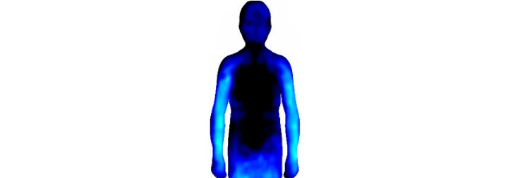 Niedergeschlagenheit, ein schwarzes Loch.<br />Dann malten die Testpersonen auf ein neutrales Schaubild ihre persönliche Visualisierung, bezogen auf den eigenen Körper.