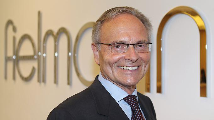 Günther Fielmann sieht Defizite im Online-Geschäft.