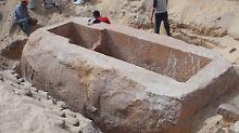 Fundsache, Nr. 1238: Pharaonengrab aus der 13. Dynastie