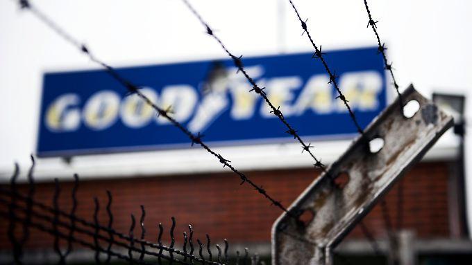 Goodyear-Werk in Amiens: Die Reifenfabrik gerät immer wieder in die Schlagzeilen.