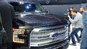 US-Autobauer im Aufschwung: GM, Ford und Chrysler haben wieder Lust auf Groß und Stark