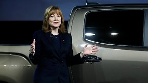 Frischer Wind bei General Motors: Mary Barra stiehlt Pickup Truck die Show