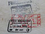 Stempel im Pass: Vermerke mit Konfliktpotenzial