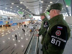 Russische Sicherheitskräfte im Nahverkehr von Sotschi: Was muss geschehen, damit Putin die Amerikaner um Hilfe bittet?