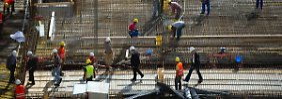 Schlussspurt soll Anlauf sein: Branche setzt auf Wohnungsbau