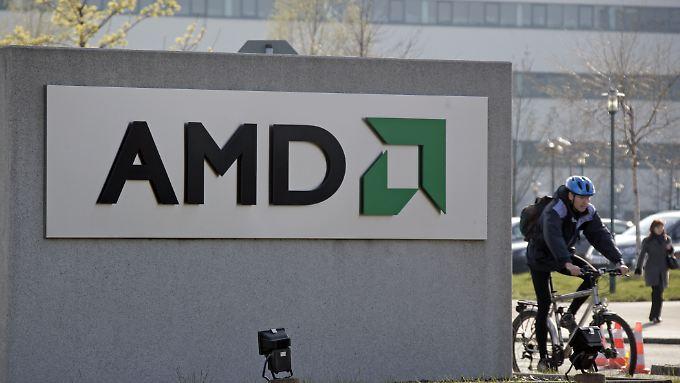 Maue Zahlen von AMD und anderen US-Tech-Giganten ziehen die US-Börsen herunter.