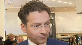 """Jeroen Dijsselbloem im Interview: """"Kein Deflationsrisiko für die Eurozone"""""""