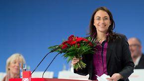 Sonderparteitag in Berlin: SPD wählt Fahimi zur neuen Generalsekretärin
