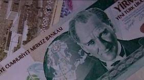 Währungen im freien Fall: Investoren ziehen Geld aus Schwellenländern ab