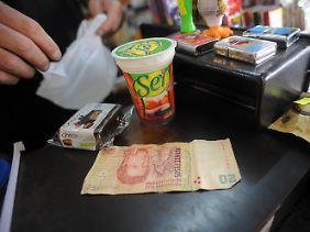 Argentinien kämpft mit einer stark wachsenden Inflation.
