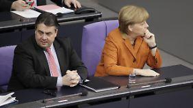 """""""Wer soll das alles finanzieren?"""": Diese Frage wird der Kanzlerin derzeit häufig gestellt."""