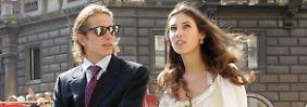 Jawort vor schneebedeckten Bergen: Andrea Casiraghi heiratet kirchlich