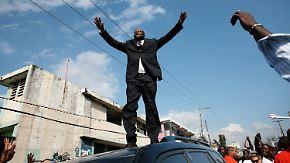 """""""Amerika hat Obama, Haiti hat Wyclef Jean"""": Hip-Hop-Star kandidiert als Präsident"""