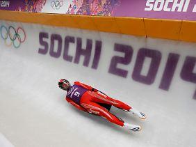 Der 26-Jährige ist Tongas erster Rodler bei Winterspielen.